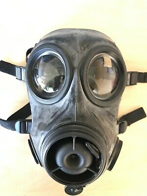 British Gas Mask Avon Respirator FM12 NBC (S10 model improvement) WITH FILTER