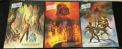 1980 Set of 3 Empire Strikes Back Coke/Burger Chef Posters Boris Star Wars