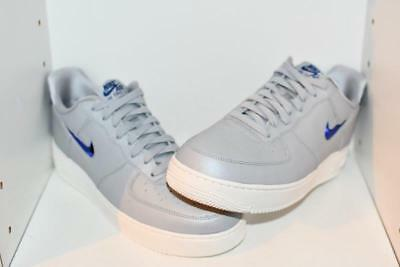 New NIKE Air Force 1 Lv8 Shoes leather Mens white burgundy navy sizes 10-13