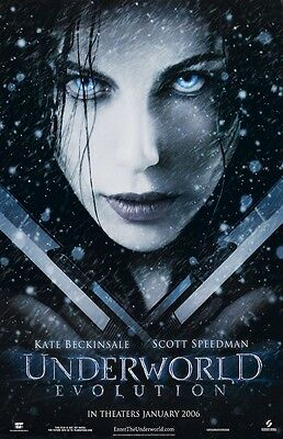 Underworld Evolution movie poster (a) : 11 x 17 inches - Kate Beckinsale Poster