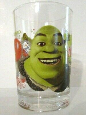 Disney Shrek Glass from McDonalds