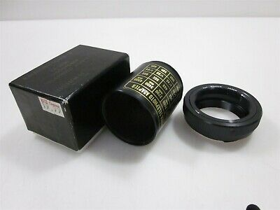 Bausch and Lomb Discoverer Scope Photo Adapter and Konica AR T Mount