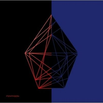 Pentagon-[Universe:The Black Hall]1st Album CD+Poster+Booklet+Card+PreOrder+Gift