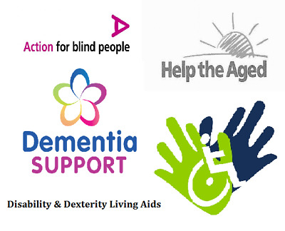 Disability Living Aids Disabled Help Equipment For Blind Elderly Dementia Users