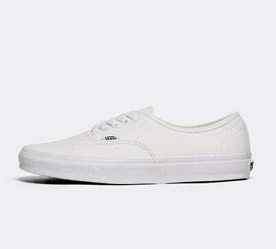 Mens Vans Authentic White Trainers (SF1) RRP £49.99