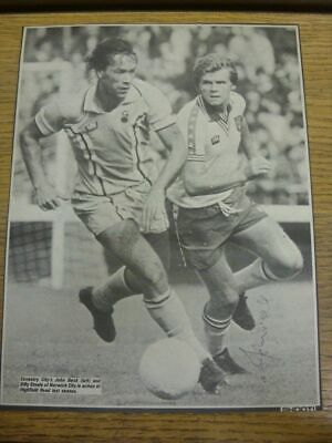 1976-1978 Football Autograph: Coventry City - John Beck [Hand Signed, Black & Wh
