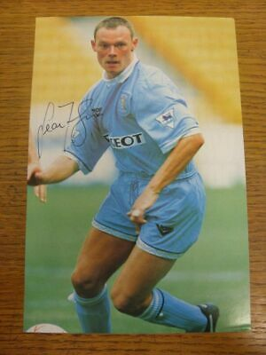 1991-1995 Football Autograph: Coventry City - Sean Flynn [Hand Signed, Colour, M