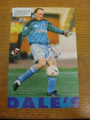 1984-2000 Football Autograph: Coventry City - Steve Ogrizovic [Hand Signed, Colo