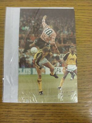 1988-1993 Football Autograph: Sheffield United - Brian Deane [Hand Signed, Colou