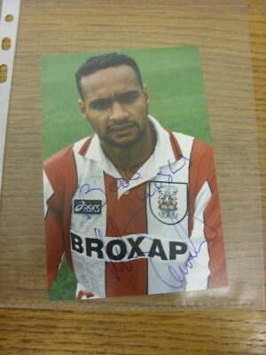 1993-1996 Football Autograph: Stoke City - Martin Carruthers [Hand Signed, Offic