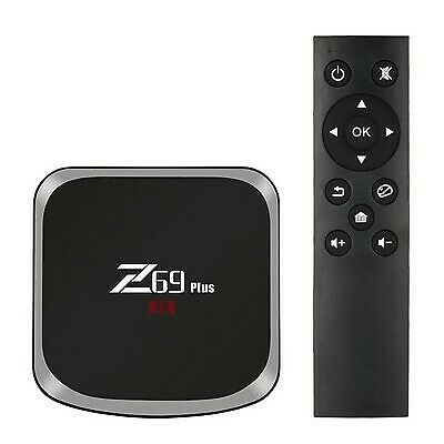 Tv Box Ott Z69 Plus S912 4K 3Gb Ram 64Gb Memoria Interna Android