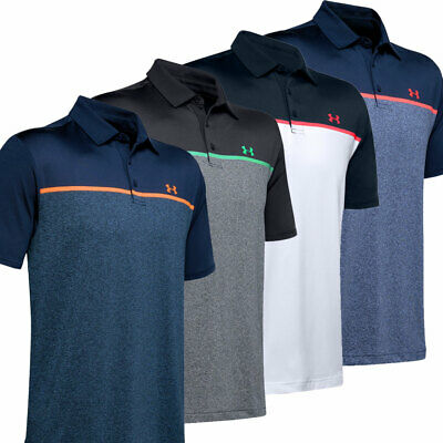 Under Armour Mens 2020 Engineered PlayOff Performance Stretch Golf Polo Shirt