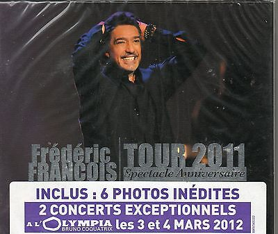 Double Cd Digipack  18T Frederic Francois Tour 2011 Spectacle  Anniversaire Neuf