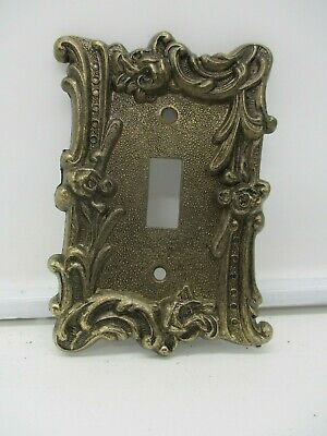 Vintage Brass 1960s Switch Cover Edmar Creations