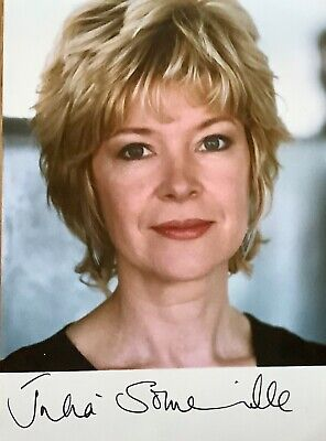 Julia Somerville  UK TV Presenter Signed Approx 5 x 4 photo