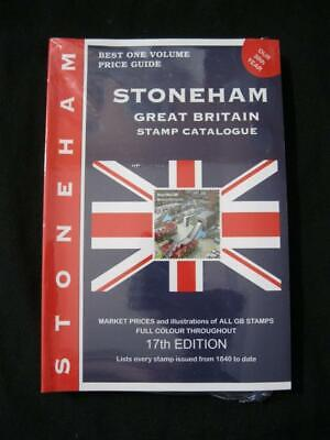 STONEHAM GREAT BRITAIN STAMP CATALOGUE 17th Edition 2017