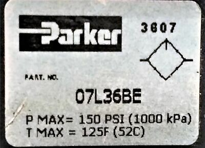 Parker 07L36BE Air Line Lubricator