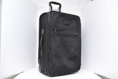 Tumi Black Expandable Carry On Rolling Bag 22922DH 2 Wheel Luggage upright 22""