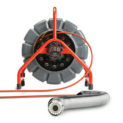 RIDGID 63628 SEESNAKE MINI SELF-LEVELING PIPE INSPECTION CAMERA REEL 200 ft. NEW