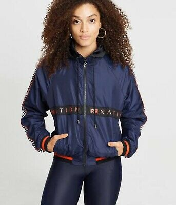 P.E Nation Intensity Dark Blue Jacket Size Small. New With Tags. Pe Nation