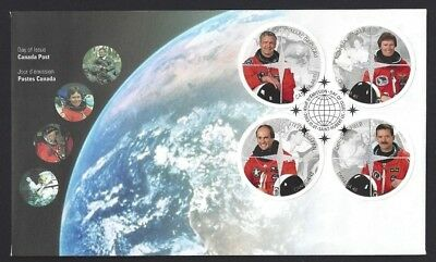 Canada    # 1999 abcd    CANADIAN ASTRONAUTS    Brand New 2003 Unaddressed Cover