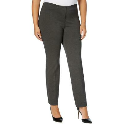 Alfani Womens Heathered Comfort Waist Skinny Fit Ankle Pants Plus BHFO 3899
