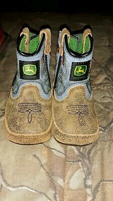 John Deere Crib Shoes Booties Sock Infant Baby Newborn Cow//Lamb Sheep NWT