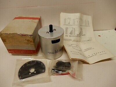General Radio Decade Resistor Type 510-G Hundred Thousands .05% New Open Box