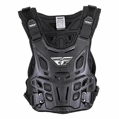 Fly Racing Revel Mens Body Armour Chest Protection - Black One Size