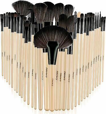 Foolzy 32 Professional Makeup Brush Set with Travel Case - 32 Piece brush set