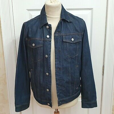 Men's GAP 1969 denim jacket,  worn once , size Medium Dark blue Denim (w)