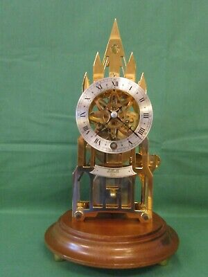 Lovely skeleton timepiece by Elliott from the last quarter of the 20th century