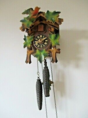 Vintage German cuckoo clock for repair