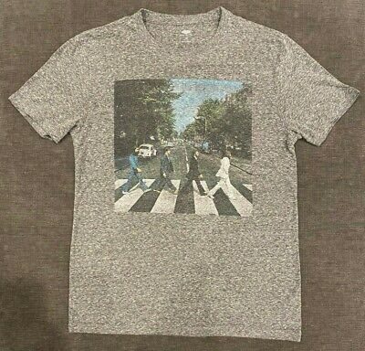 The Beatles Abbey Road John Lennon Rock Official Tee T-Shirt Mens Unisex