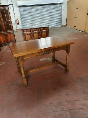 Old Charm Furniture Oak Extending Refectory Dinning/Kitchen Table 3 Size Table