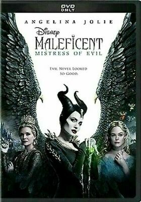 DVD- Disney Maleficent Mistress of Evil (DVD,2019) SHIPS NOW !