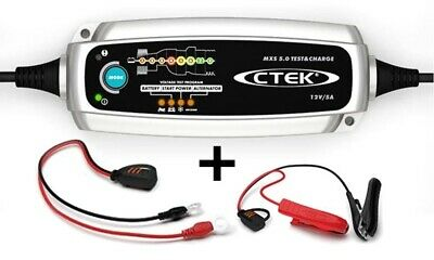 Ctek Batterie Chargeur Mxs 5.0 Test & Charge 12V 0,8/5,0 A