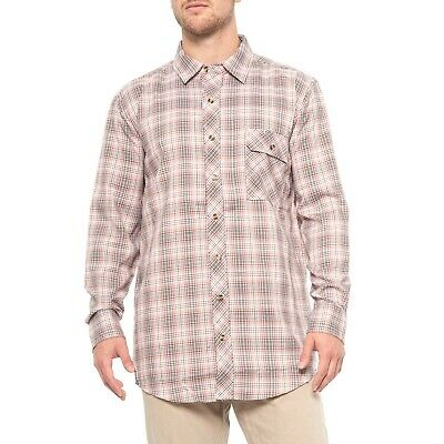 CCW Shirt Propper® Covert Button-Up Long Sleeve Ocean Blue Plaid Snap Up Shirt