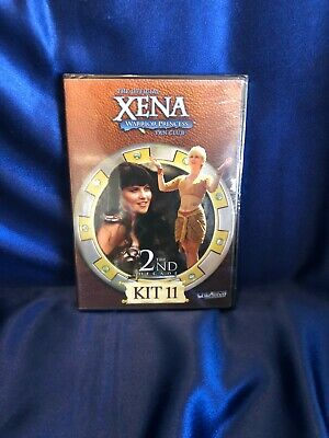 ULTRA RARE XENA LUCY LAWLESS & RENEE O'CONNOR Fan Club Kit #11 DVD - SEALED