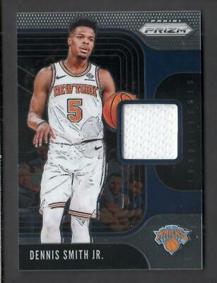 2019-20 Panini Prizm Basketball Sensational Swatches SS-DSJ Dennis Smith Jr.