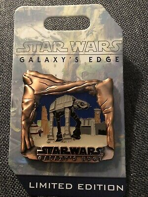 AT-AT Star Wars Galaxy's Edge Opening Countdown LE 3500 Disneyland Pin