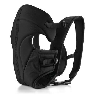 Babylo 3 in 1 Baby Carrier Adjustable Infant Seat Newborn Backpack Black