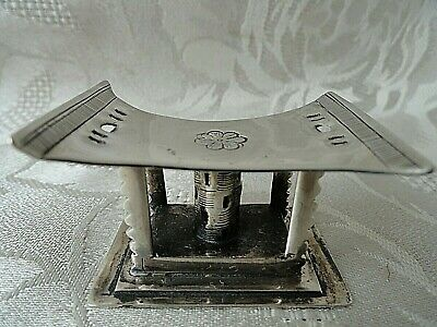 Old Vintage   Silver Plated Cutlery Rest