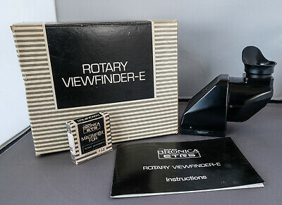 Bronica ETR, ETRSi  Rotary ViewFinder E with one correction lens