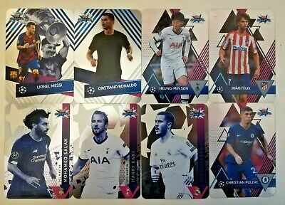 Topps Uefa Champions League Crystal Cards 2019/20 - Base Master Icon
