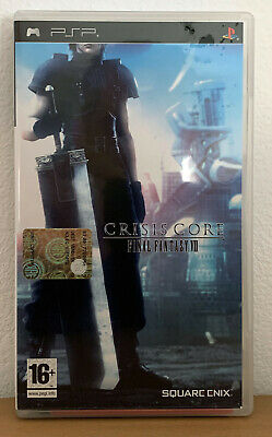 Crisis Core Final Fantasy VII 7 Sony Playstation PSP UMD PAL Ita Square Enix