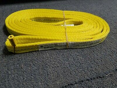 National Idustrial Supply #78602 1 inch by 10 foot 5120 lbs polyester web sling