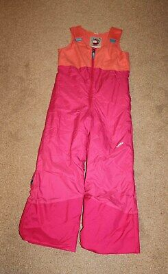Girls Ski Salopettes Decathlon Wed'ze  Trousers Age 5-7 Adjustable