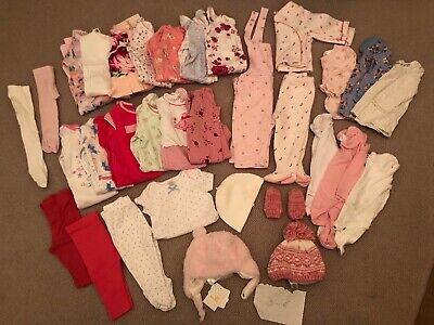 Children baby clothes 3-6m girls bundle job lot NEW (Ted Baker, Nutmeg, M&S, Jo