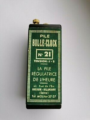 Bulle clock battery regulator Type 21